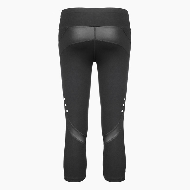 Zella Capri Gym Legging Jet Black