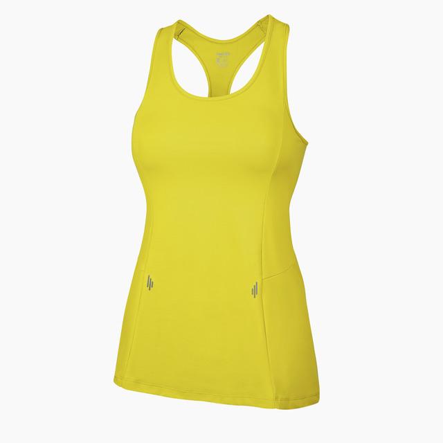 Alana Fitness Vest Yellow